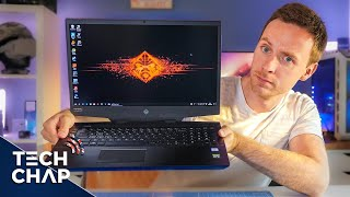 The HP OMEN 17 is a BEAST of a Gaming Laptop 17 quot 144Hz RTX 2070 The Tech Chap