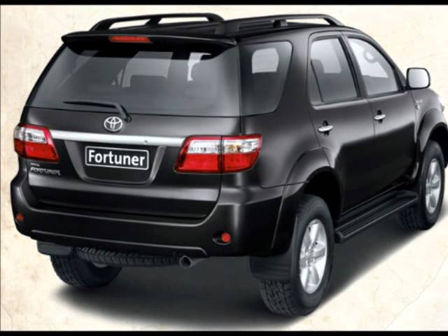 Toyota Fortuner Model Specification Exterior Interior Appearance