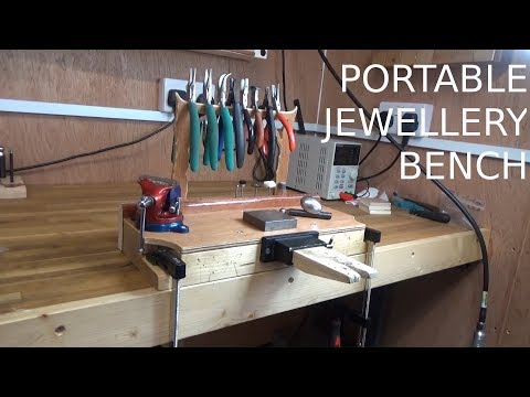 Portable Jewellery Bench