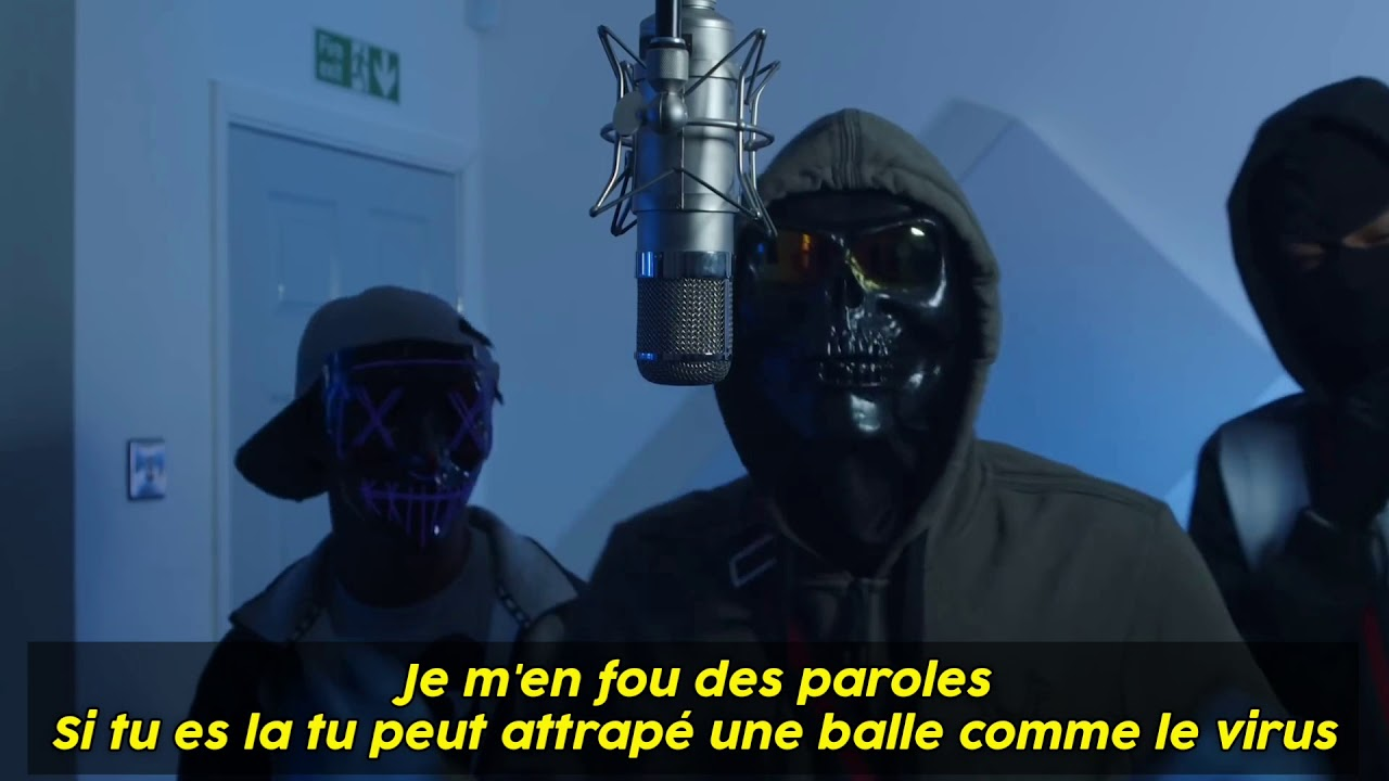 Traduction UK   (Sin Squad) Bully B, LR & Stewie - Plugged In
