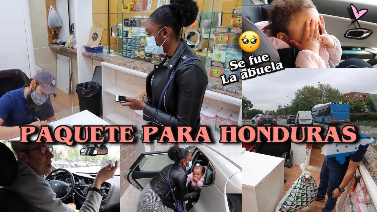 LA ABUELA SE VA ✈️🥺 + ENVIO PAQUETE PARA HONDURAS 🇭🇳❤️ + ESTE PRODUCTO SI FUNCIONA 👍🏻🤩