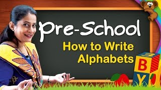 Learn Alphabets For Kids | How to Read English Alphabets | How to Write English Alphabets