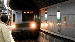 【引退】 東京メトロ千代田線6000系6124F Tokyo Metro 6000 Series