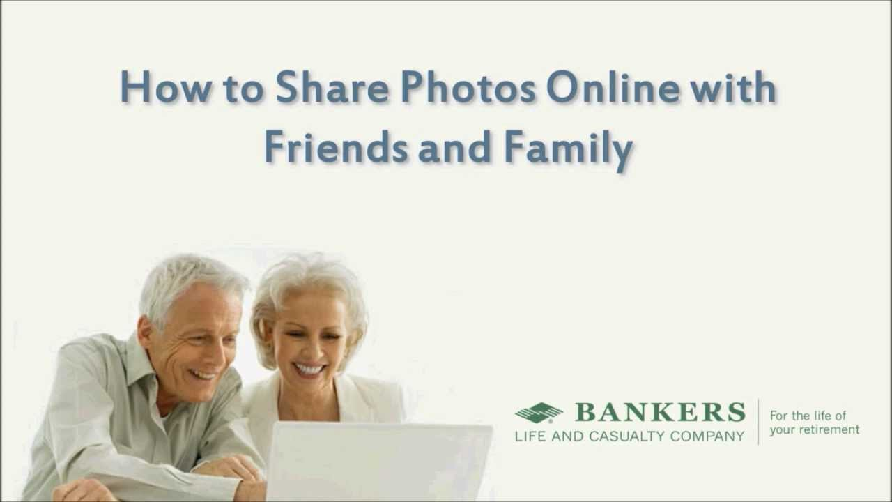 How to Share Photos Online Using Flickr - Tech Tips for Seniors by Bankers  Life
