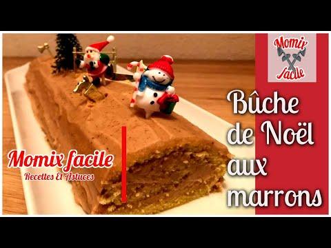 bûche-de-noël-aux-marrons-au-thermomix