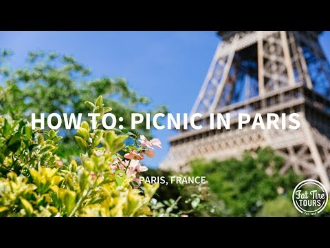 A Guide to Paris: Shopping on Rue Cler and Picnic at Champ de Mars!