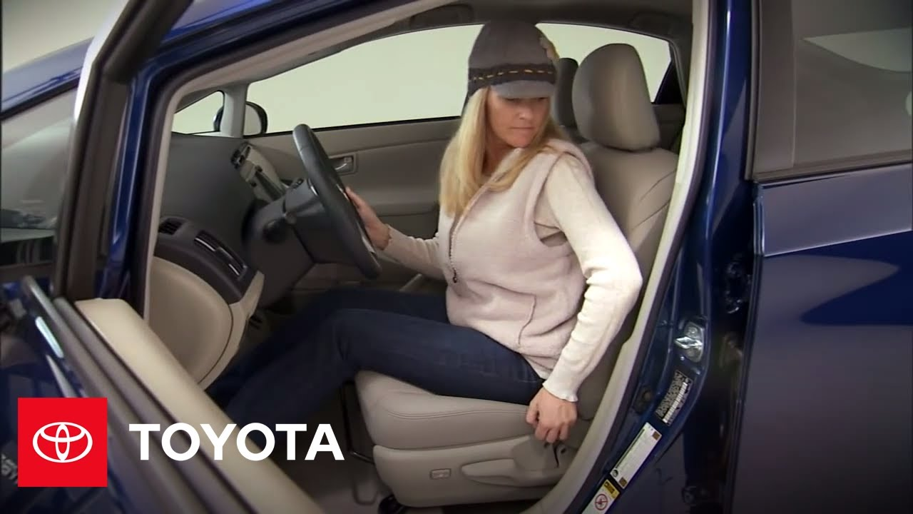 2010 Prius How To Seat Adjustments And Heated Seats Toyota