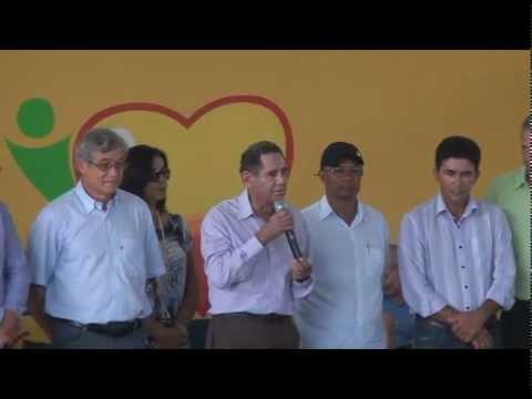 Discurso do Ex-deputado Estadual Luiz Tolentino no 18º aniversário de Santa Terezinhawmv