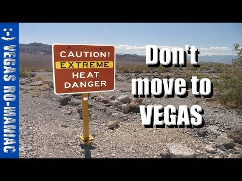 1 Reason NOT to move to Las Vegas, Nevada