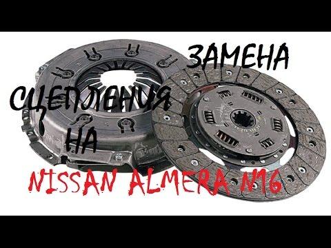 Самостоятельная замена сцепления на Nissan Almera N16 QG15DE