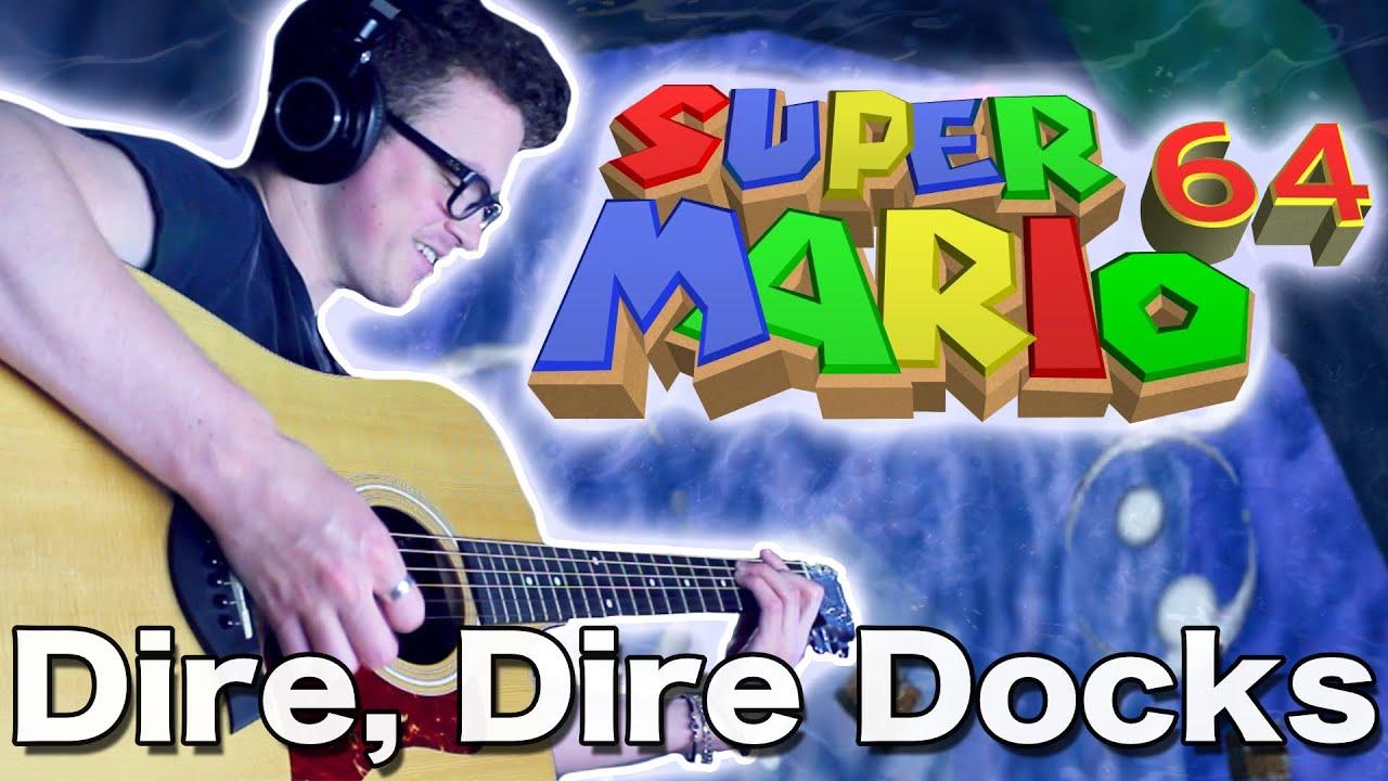 Dire, Dire Docks - Super Mario 64 (Acoustic Cover) | Gabocarina96