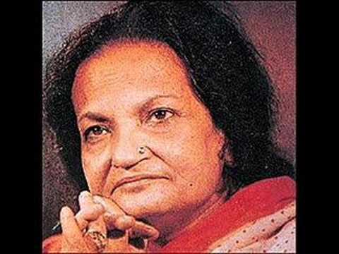 Begum Akhtar - aah ko chahiye ek umra