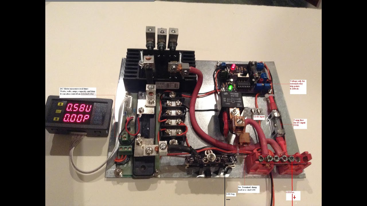 Wind Turbine Controller For Grid Tie