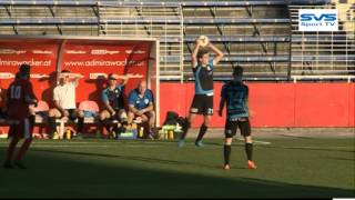Fußball: Admira Juniors - SVS