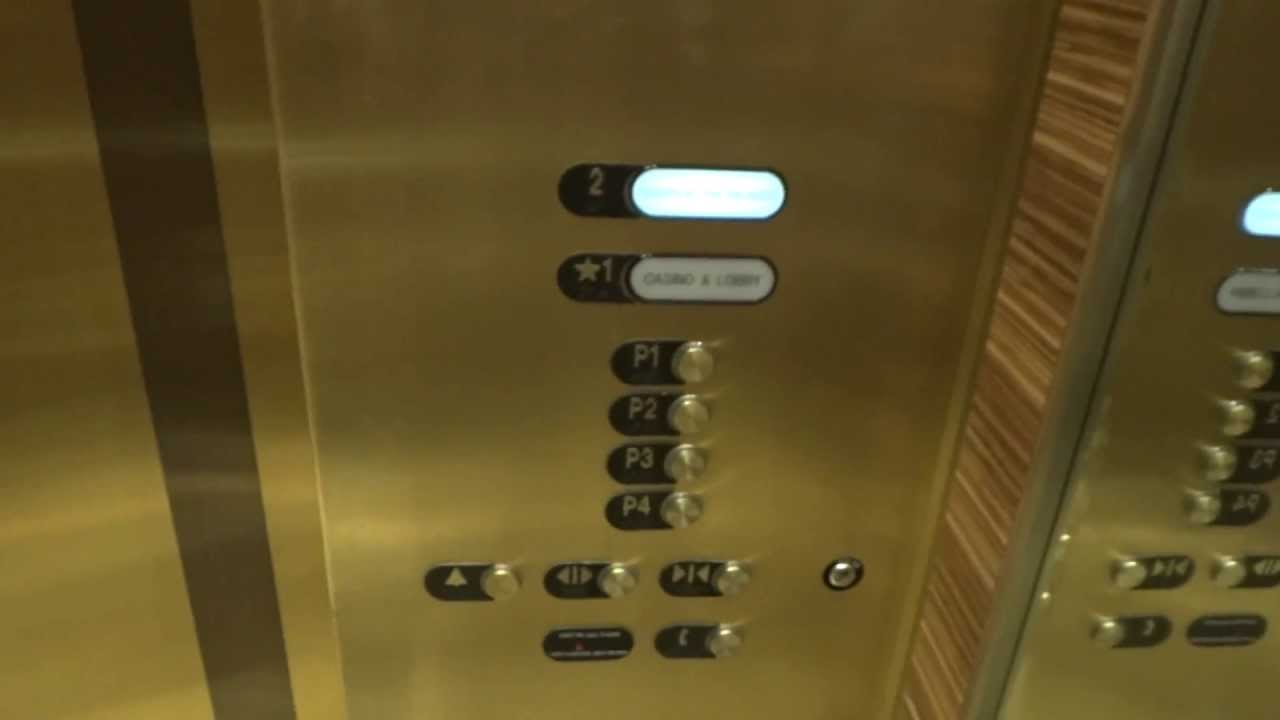 Otis Garage Elevators - Palazzo Resort & Casino - Las