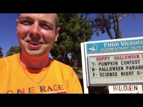 Mr. Peace Visits Point Vicente Elementary School in Ranchos Palos Verdes, California