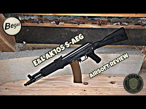 """[REVIEW] E&L AK105 """"Diamond Series"""" AK74 Airsoft Review Deutsch/german"""