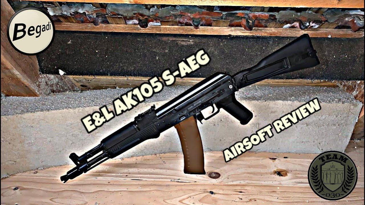 [REVIEW] E&L AK105 S-AEG Diamond Series