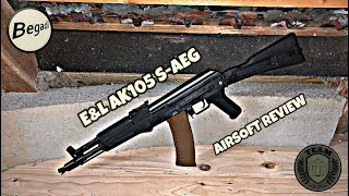"[REVIEW] E&L AK105 ""Diamond Series"" AK74 Airsoft Review deutsch/german"