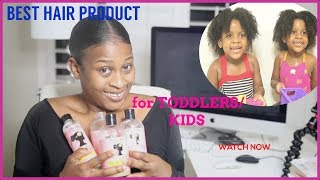Camille Rose Naturals One Line Product Review & Tutorial | TODDLERS/KIDS