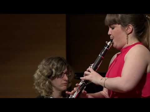 Robert Muczynski Op. 43 Time Pieces for clarinet and piano (1983)