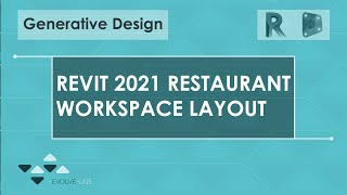 Generative Design Study: Restaurant Workspace Layout