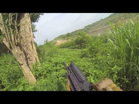 Riverine training live fire Inter-op 2013 in 1080HD