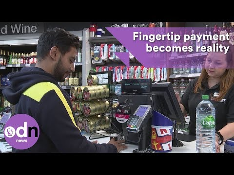 Fingertip payment becomes reality