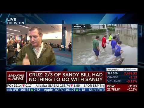 Sen. Cruz on CNBC - August 28, 2017