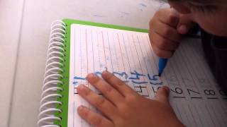 Learn to Write Numbers 1 to 20