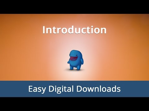 #1. Introduction to Easy Digital Downloads