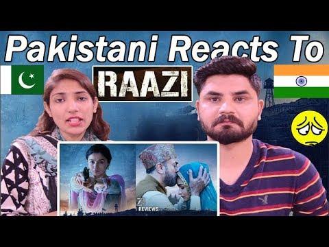 Pakistani Reacts To   'Raazi' Official Trailer   Alia Bhatt, Vicky Kaushal   Meghna Gulzar