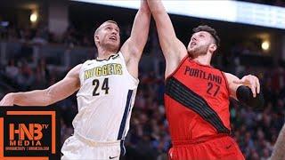 Portland Trail Blazers vs Denver Nuggets Full Game Highlights / April 9 / 2017-18 NBA Season