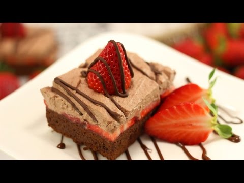 Erdbeer- Brownies | Brownie Challenge zum Filmstart THE BOSS