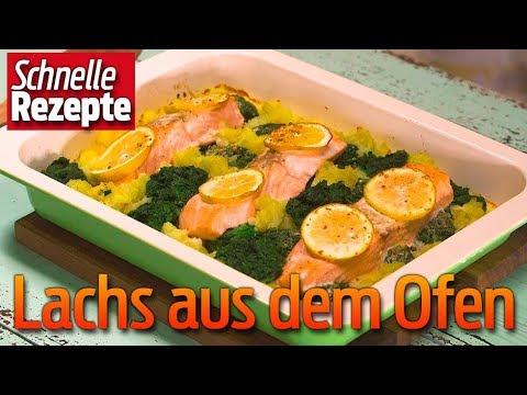 Schneller Lachs aus dem Ofen | Schnelle Rezepte |