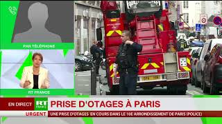 Prise d'otage à Paris : il faudra attendre l'interpellation pour déterminer les motivations