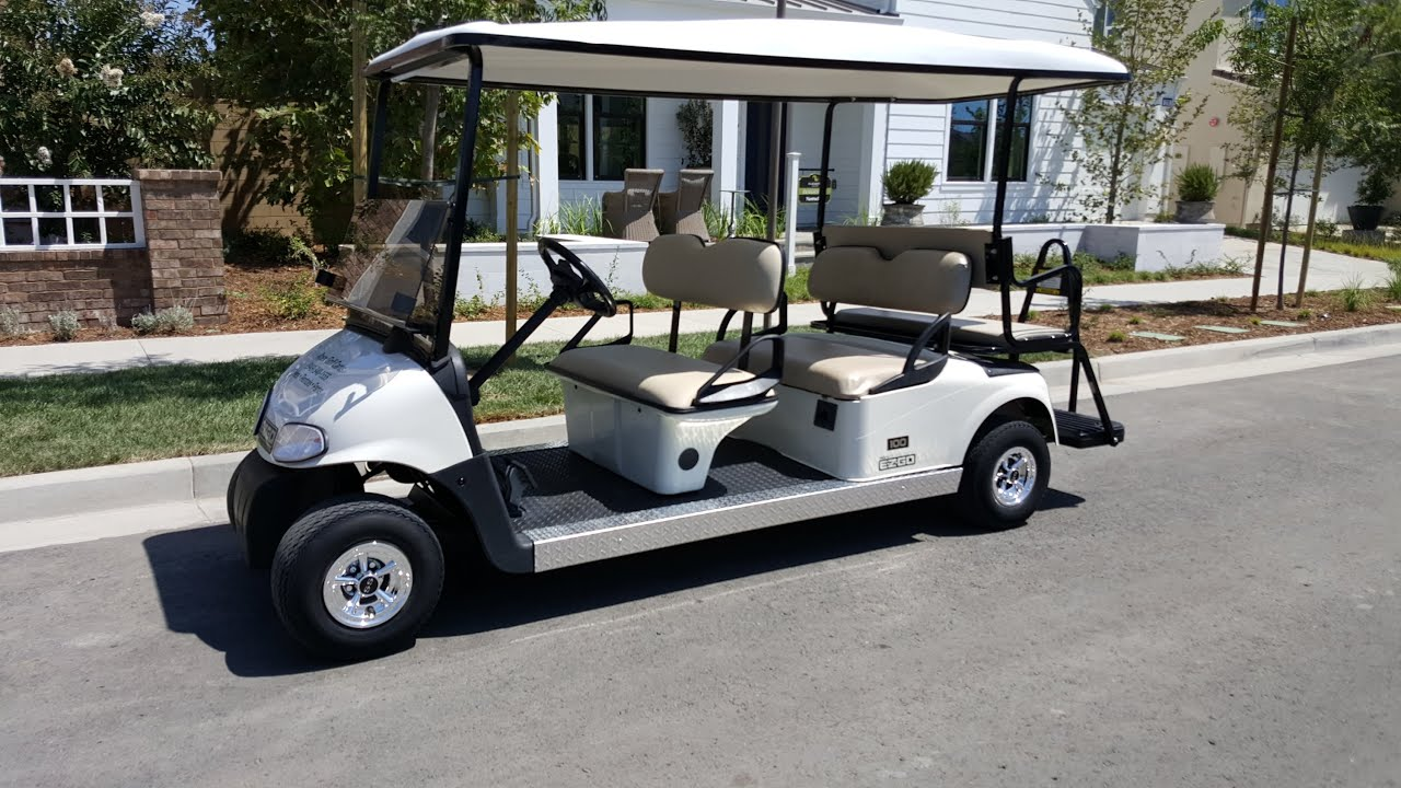 Custom Build 6 Penger 2010 EzGo RXV Streched Limo 48V Electric ... on electric golf cart 6 seater, ezgo 6 seater, honda golf cart 6 seater, gas golf cart 6 seater, yamaha 6 seater, ez go golf cart 6 seater,