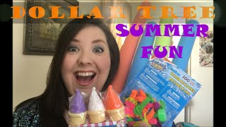 Dollar Tree Haul ~ SUMMER FUN!!!