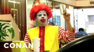 Eric Andre's Never-before-aired Mcdonald's Prank