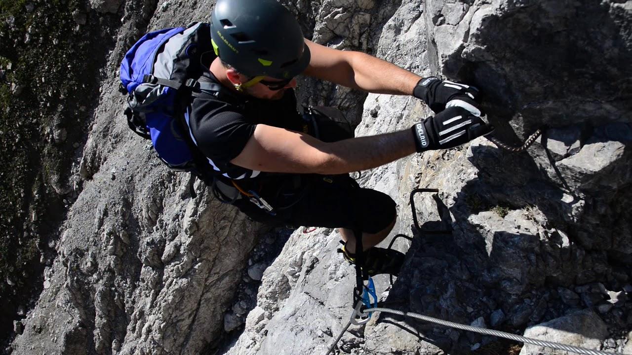 Klettersteig Saulakopf : Saulakopf klettersteig youtube