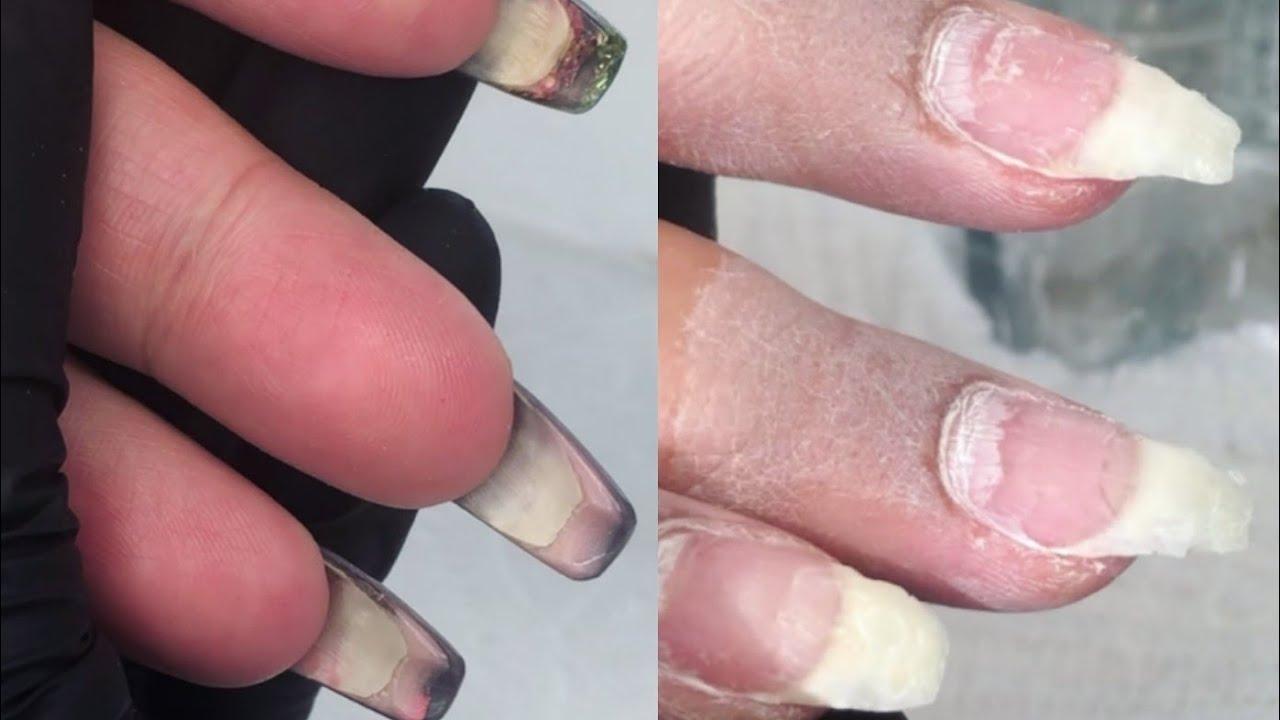 Nail Art Natural Acrylic Nails How To Remove Acrylicuñas Acrilicas Naturales Remover Acrílico