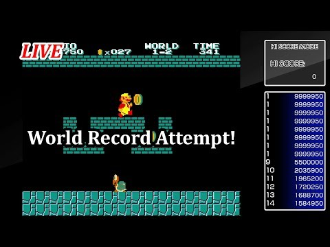 Arcade Archives VS. Super Mario Bros World Record Attempt!