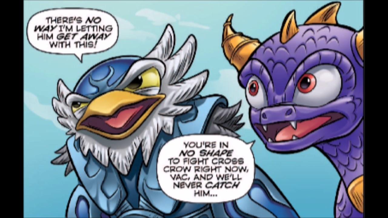 IDW Skylanders: Spyro and Friends - Full blast