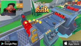 Planet Gold Rush Mobile Game First Impressions #WinRealGold
