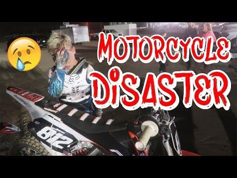 KIDS MOTORCYCLE DISASTER! - 동영상