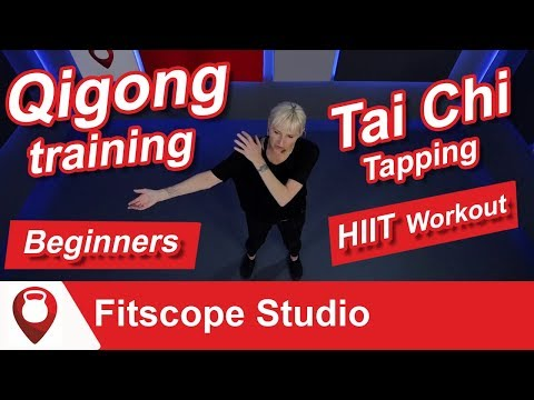 Tai Chi Tapping for Beginners | Qigong training | Fitscope Studio