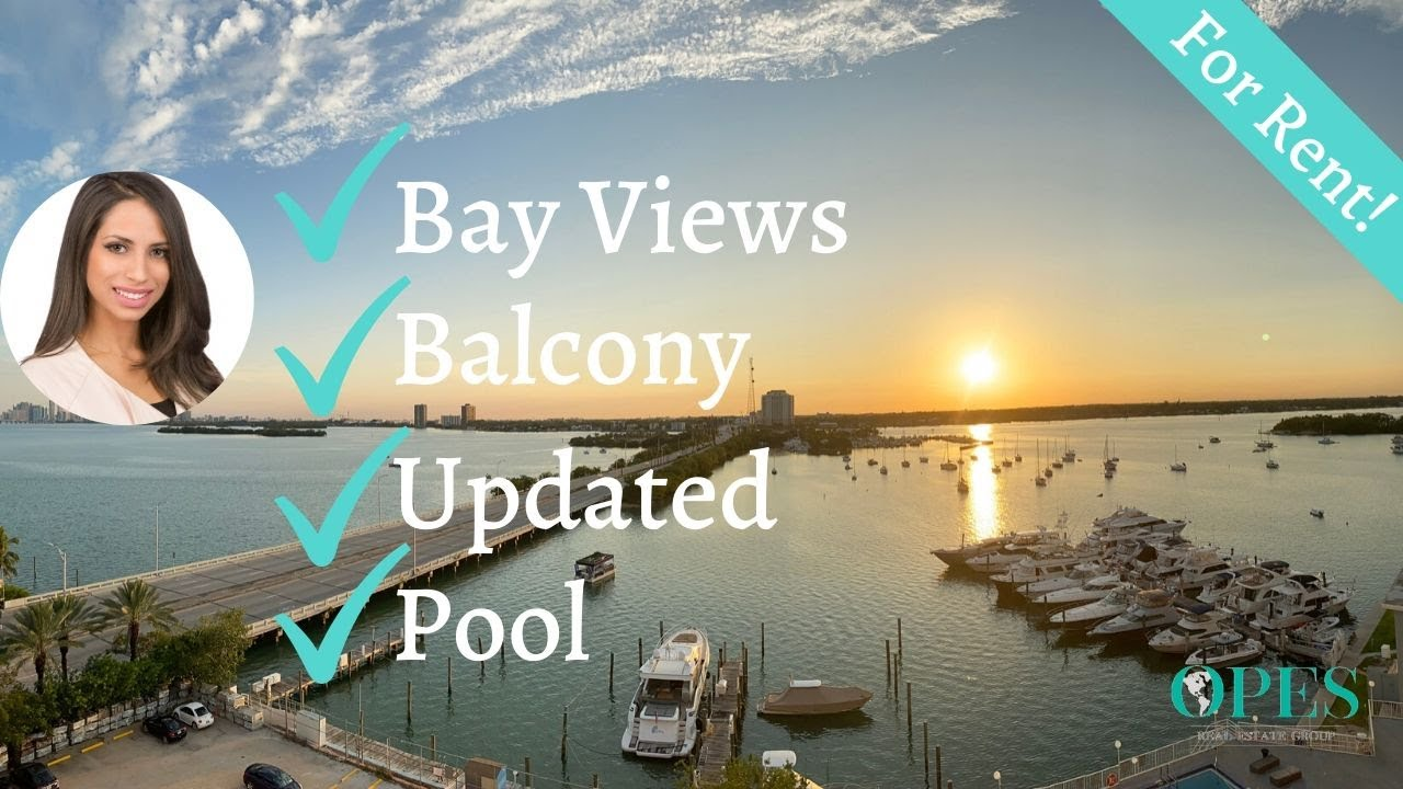 Miami Bay View Studio For Rent! - 7904 West Dr #905, North Bay Village, FL