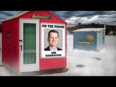 Michigan HC Jim Harbaugh on The Dan Patrick Show | Full Interview | 2/5/18