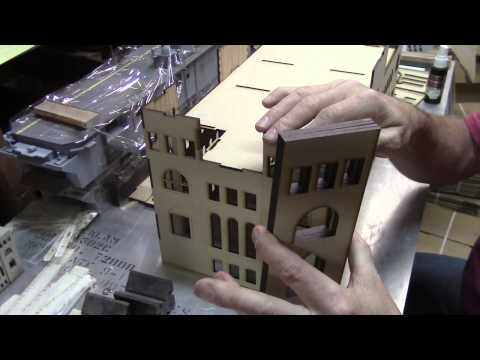 Assembling the WWII Government Building