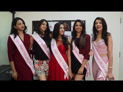 Miss India South 2018 winners visit the Naturals Salon